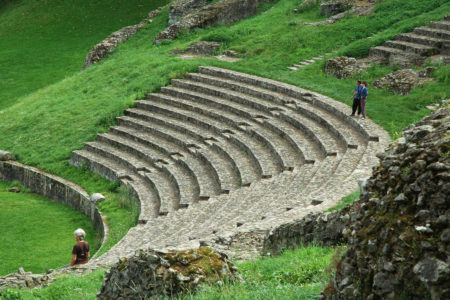Autun theatre romain