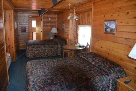 Le style de nos wagons privés (actuellement rénovés) avec un ou deux lits.
