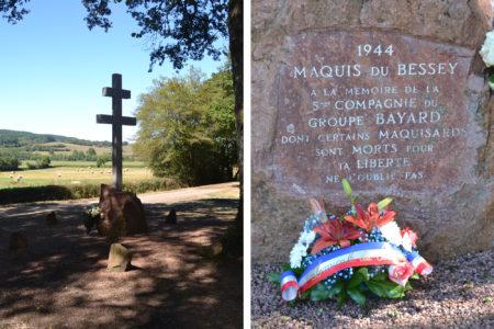 monument de la Résistance, les Maquisards Bayard