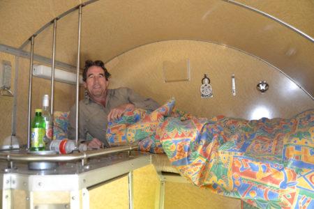 Wagon lit de la Compagnie Internationale des Wagons Lits