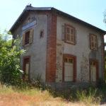 La gare de Dracy-Saint-Loup avant rénovation