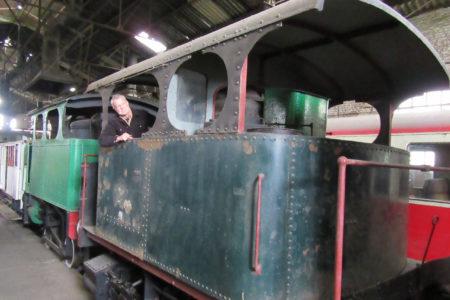 Notre 1910 Cockerill 020T locomotive à vapeur avant la restauration.