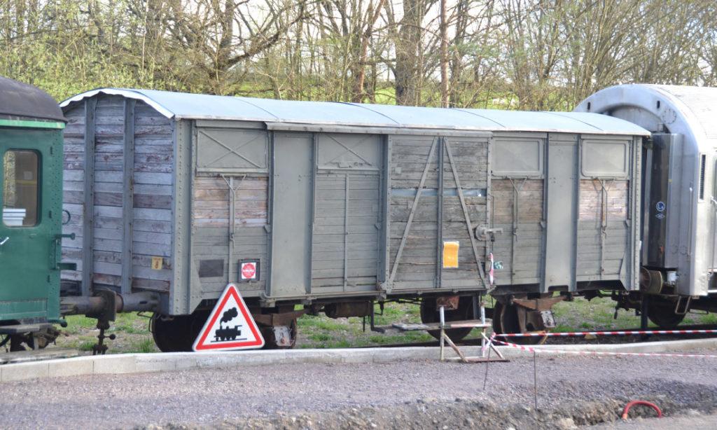 Wagon OCEM-29 de Camp des Matelots, Versailles 5ème Régiment du Génie de Division Blindée